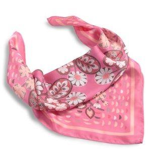 NWT {Vera Bradley} Neckerchief Scarf Blush Pink